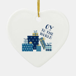 Oy To World Christmas Ornament