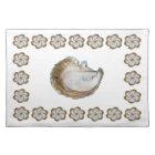 Oyster Cotton Placemat - Design C