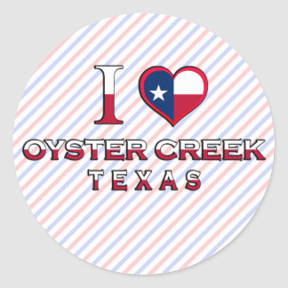 Oyster Creek, Texas Stickers
