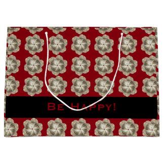 Oyster Flower Gift Bag - Design B