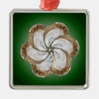 Oyster Flower Ornament - Design C