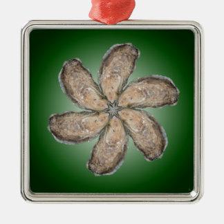 Oyster Flower Ornament - Design D