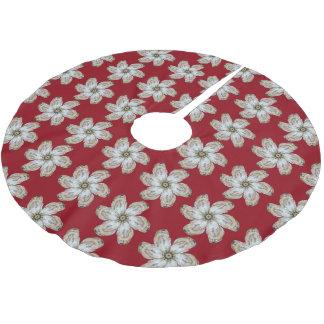 Oyster Flower Tree Skirt - Design A