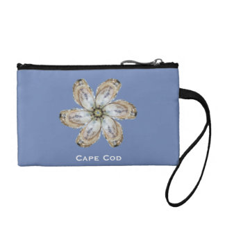 Oyster Flower Wristlet - Designs A & C Blue