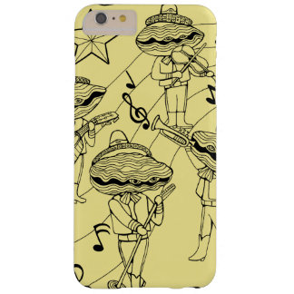 Oyster Mariachi Band Line Art Design Barely There iPhone 6 Plus Case