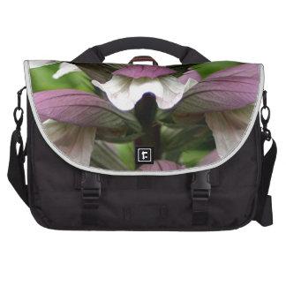 Oyster plant flower in bloom computer bag