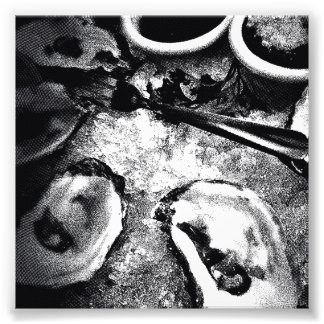 Oyster Season Photograph