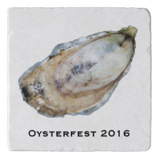 Oyster Stone Trivet - Design A
