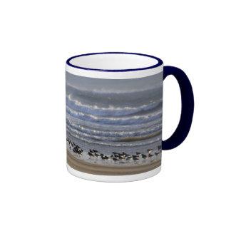 Oystercatchers on the Shoreline Mug