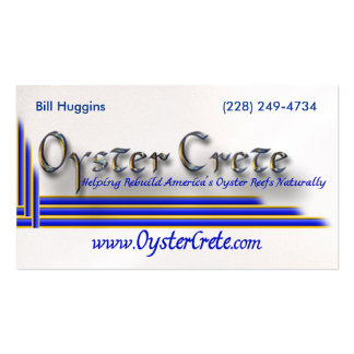 OysterCrete BC Business Card Templates