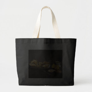 Oysters - Édouard Manet Canvas Bags