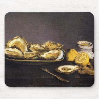 Oysters - Édouard Manet Mouse Pad