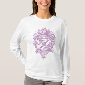 OZ Monogram with main characters T-Shirt