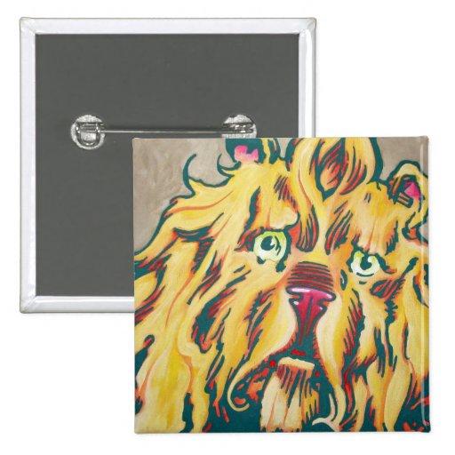 Oz Pinback - Cowardly Lion Pinback Button