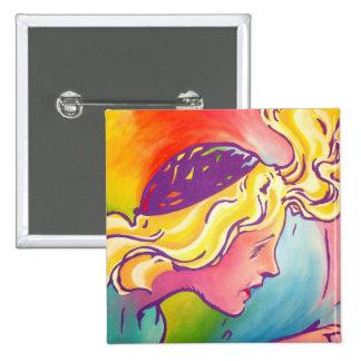 Oz Pinback - Polychrome Button
