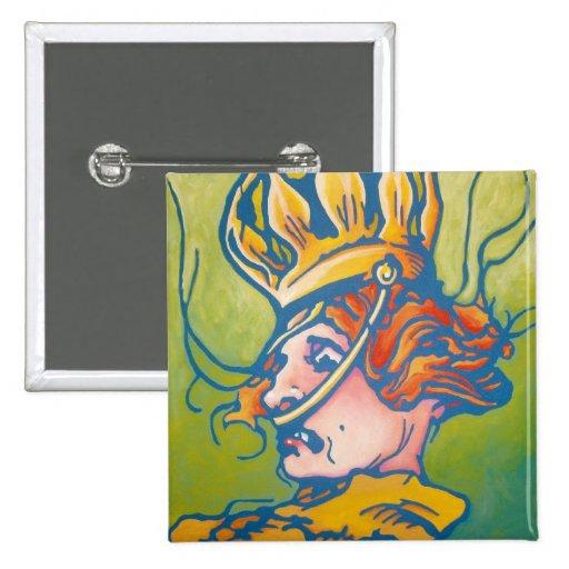 Oz Pinback - Queen Ann Pinback Button