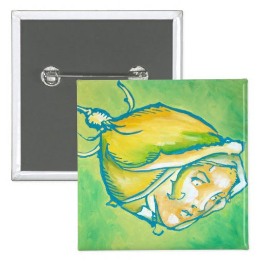Oz Pinback - Rose Pinback Buttons