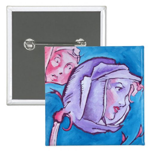 Oz Pinback - Rose Pins