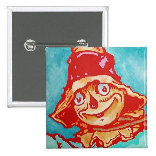 Oz Pinback - The Scarecrow Pin