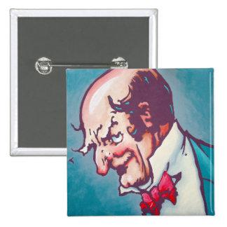 Oz Pinback- The Wizard 15 Cm Square Badge