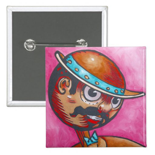 Oz Pinback - Tik-Tok Pinback Button