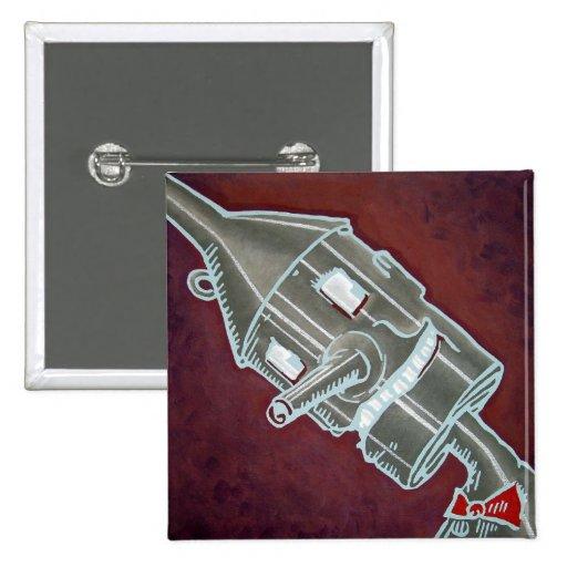 Oz Pinback - Tin Man Pinback Button