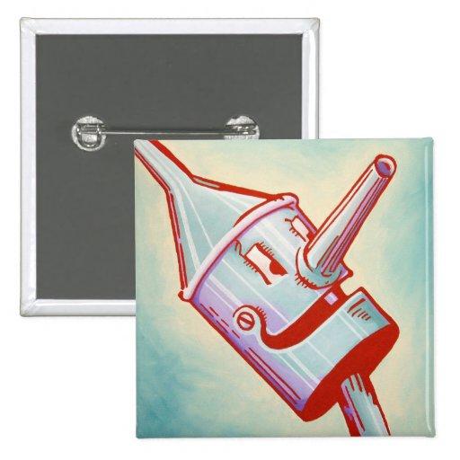 Oz Pinback - Tin Man Buttons