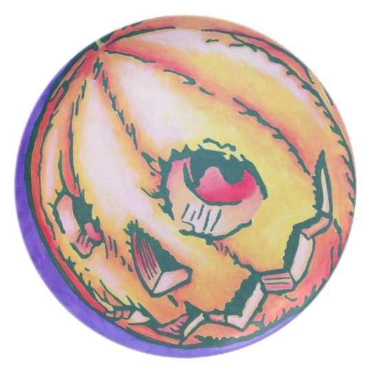 Oz Plate - Jack Pumpkinhead