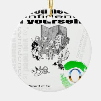 oz round ceramic decoration