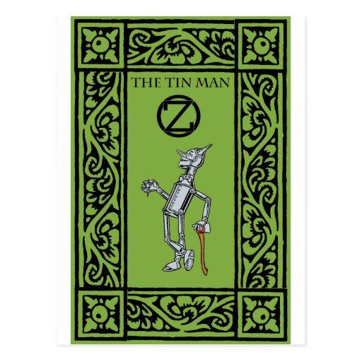 Oz - The Tin Man Post Cards