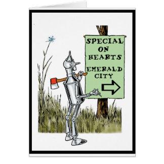 Oz - Tin Man Greeting Card