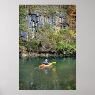 Ozark Kayaker Print