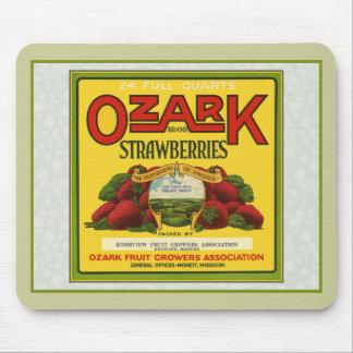 Ozark Strawberries Mouse Mat