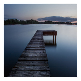 Ozarks Lake And Boat-dock Poster