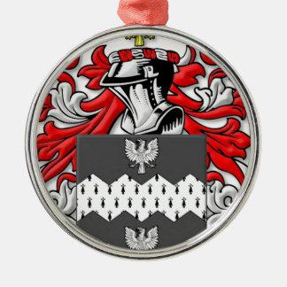 Ozment Coat of Arms Ornaments