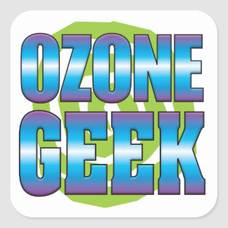 Ozone Geek v3 Square Stickers