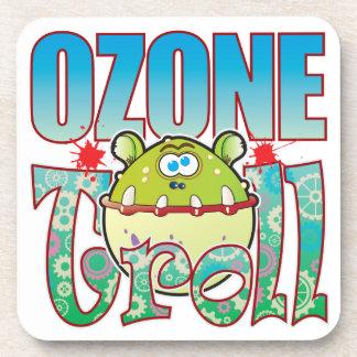 Ozone Troll Beverage Coaster