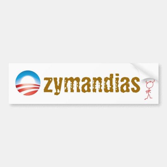 Ozymandias Bumper Sticker