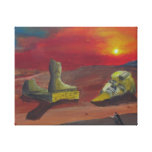 Ozymandias Gallery Wrapped Canvas