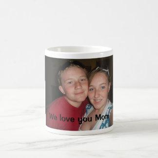 P1010357, We love you Mom Basic White Mug