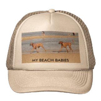 P1040151, MY BEACH BABIES - Customized Trucker Hats