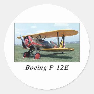 P12E ROUND STICKER