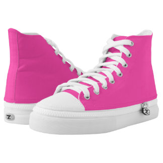 P25 Fancy That Magenta! Pink Color Printed Shoes