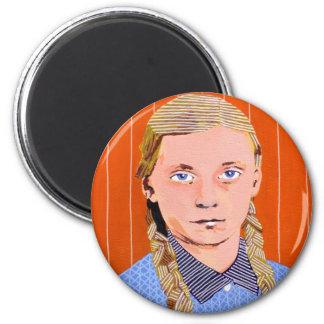 p2 6 cm round magnet