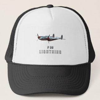 P38 Lightning Trucker Hat