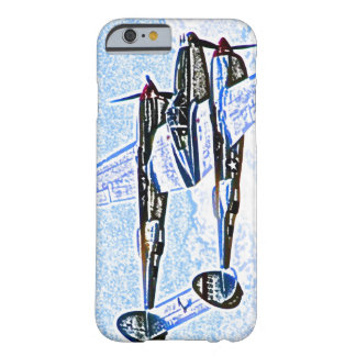 p38 Lightning world war 2 combat aircraft Barely There iPhone 6 Case