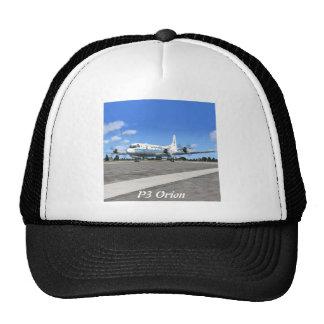 P3 Orion NOAA Weather Plane Hats