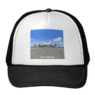 P3 Orion NOAA Weather Plane Mesh Hats