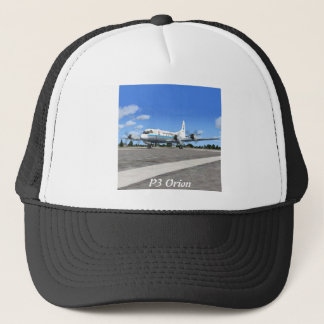 P3 Orion NOAA Weather Plane Trucker Hat