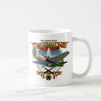 P51 Gunfighter 2 Basic White Mug